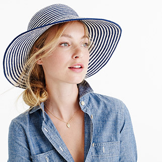 j.crew-striped-hat