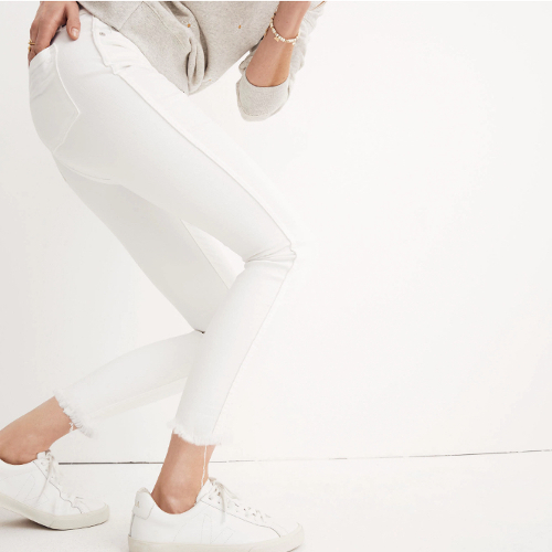 Madewell's High-Rise Skinny Crop Jeans