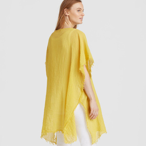 Lightweight Organic Cotton Poncho from Eileen Fisher