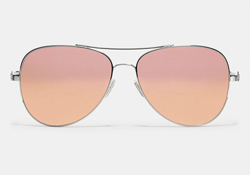 Orange Coach Sunglasses