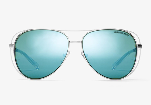 Blue Michael Kors Sunglasses