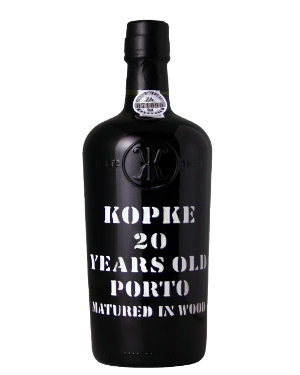 A bottle of Kopke 20 Year Old Tawny