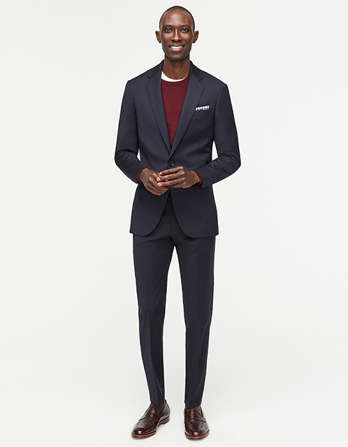 J Crew Ludlow suit with matching jacket and pants