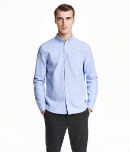 Pantone - H&M blue shirt