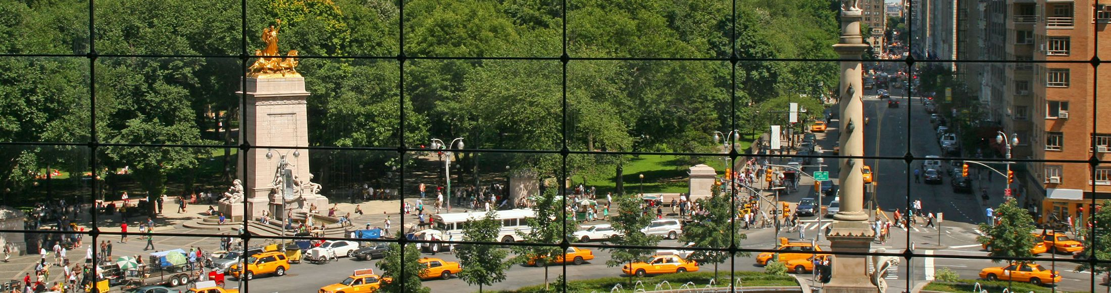 Columbus Circle Then and Now