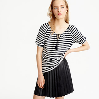 j.crew-top-and-skirt