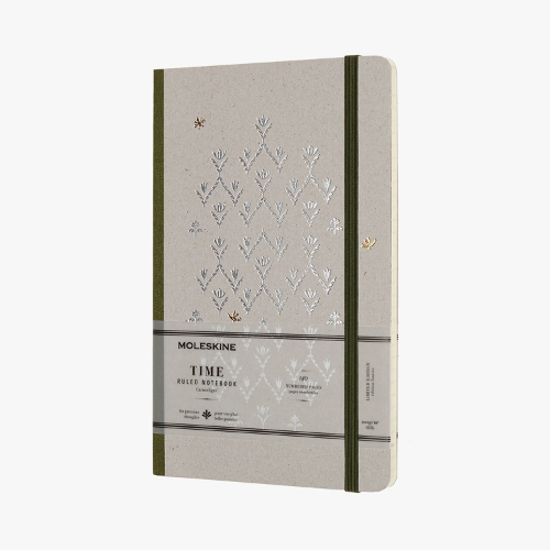 Limited-collection Time notebook from Moleskine