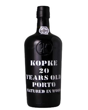 A bottle of Kopke 20 Year Old Tawny
