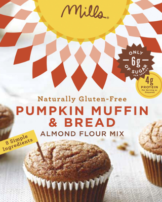 Almond flour mix for pumpkin bread and muffins