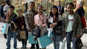 Kidsday Visits The Shops at Columbus Circle