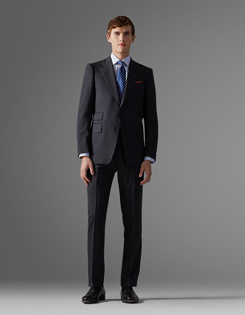 Pink Shirtmaker crease-resistant Travel Suit