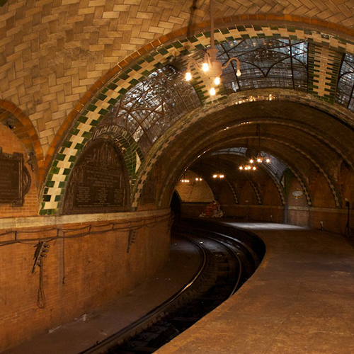 Interior of Old City Hall Subway Station