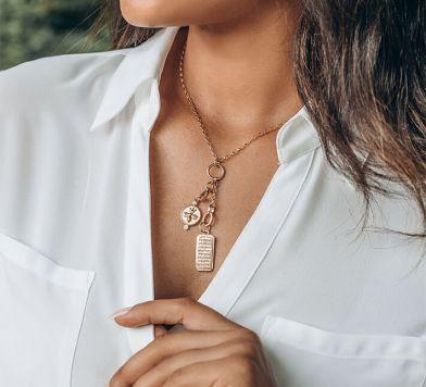 Design your Own Charm Necklace at Monica Rich Kosann
