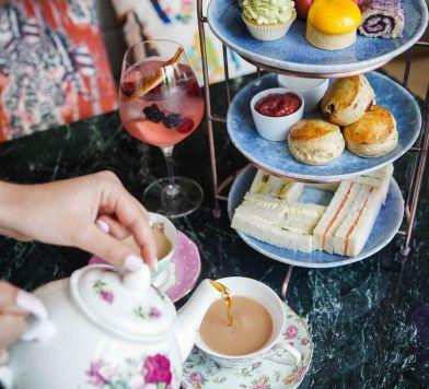 Afternoon Tea at Bluebird London 1