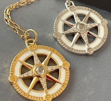 Adventure Compass Charms at Monica Rich Kosann