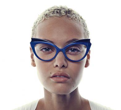 Custom Horn Eyeglasses at Morgenthal Frederics